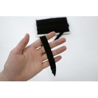 Резинка окантовочная матовая черная 1,5 см 30052007