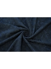 Жаккард черно-синий MSC-B4 02111931