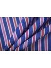Поплин рубашечный в красно-синюю полоску PRT- E4 03052003
