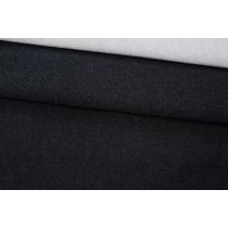 ОТРЕЗ 2,9 М Кашемир пальтовый дабл черно-серый MSC-(64)- 04111904-1