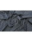 Рубашечный хлопок в полоску темно-серый PRT- E4 05052010
