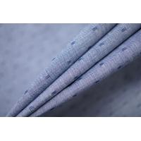 Хлопок рубашечный со льном голубой PRT-E4 05052012