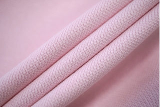 Трикотаж бледно-розовый рибана PRT-D4 19042018