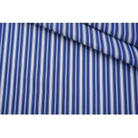 Поплин рубашечный в бело-голубую полоску PRT-G5 22042031