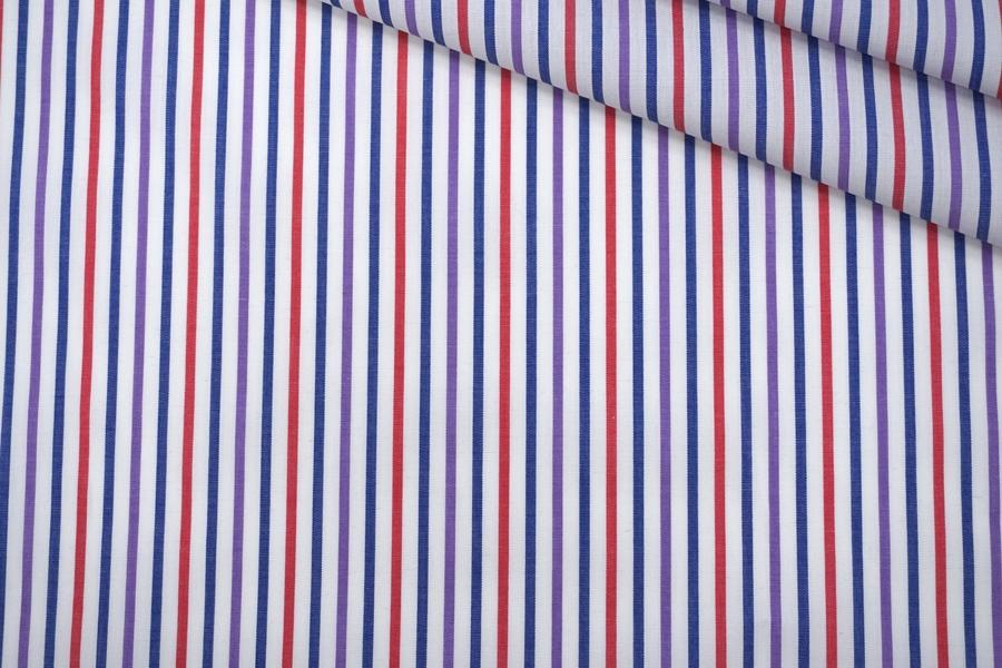 Поплин рубашечный в полоску PRT-G5 22042033