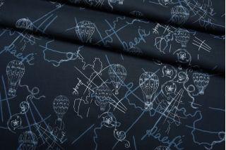Сатин рубашечный темно-синий TR-G6 01122006