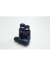 Фиксатор для шнурка пластик синий PRT 07112001