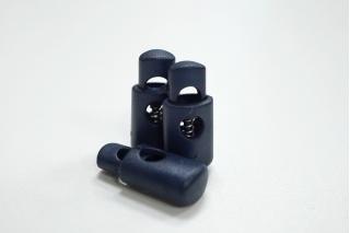 Фиксатор для шнурка пластик синий PRT-U 07112001