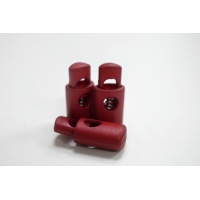 Фиксатор для шнурка пластик красный PRT-U 07112002