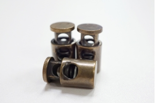 Фиксатор для шнурка металл медный PRT-U 07112004