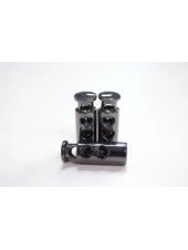 Фиксатор для шнурка металл темный никель PRT 07112005