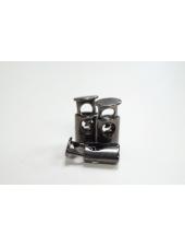 Фиксатор для шнурка металл темный никель желтоватый PRT 07112009