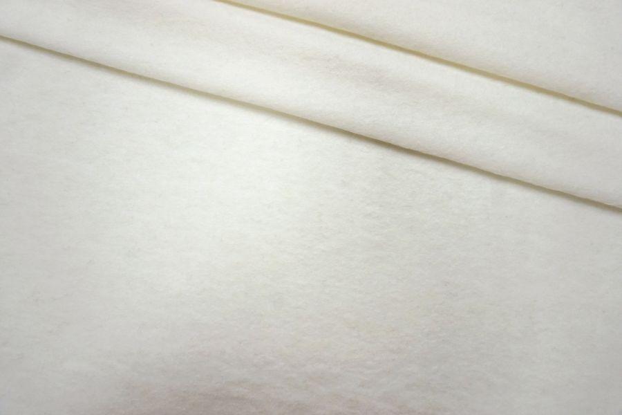 ОТРЕЗ 1,35 М Лоден тонкий бело-молочный BRS-(51)- 09112014-1