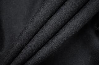 Вареная шерсть костюмная черная BRC-Z7 09112016