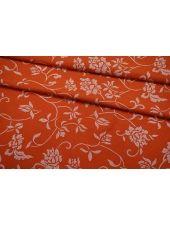 Вареная шерсть рыжая с принтом BRS 09112018