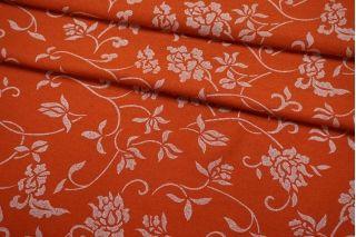 Вареная шерсть рыжая с принтом BRS-EE3 09112018