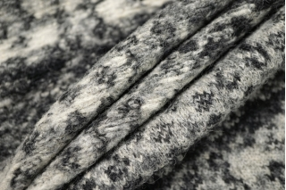 Лоден двусторонний серый орнамент BRS-EE1 09112042