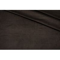 Вельвет хлопковый темно-коричневый BRS-L50 13112022