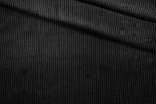 Вельвет-стрейч хлопковый черный BRS-A6 13112023
