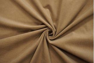 Микровельвет плательно-рубашечный темно-бежевый BRS-A4 13112025