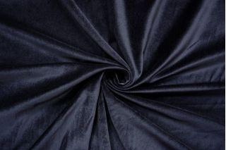 Велюр хлопковый темно-синий BRS-A6 13112027