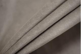 Велюр хлопковый серый BRS-A2 13112028