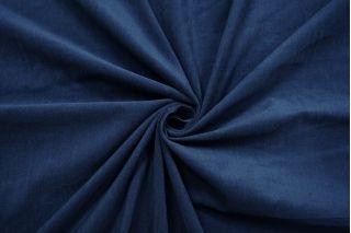 Микровельвет плательно-рубашечный синий BRS-A2 13112032