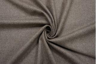 Костюмная шерстяная фланель серо-коричневая BRS-BB4 13112035
