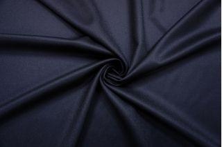 Костюмная шерстяная фланель темно-синяя BRS-BB4 13112041