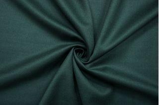 Костюмная шерстяная фланель изумрудная BRS-BB4 13112043