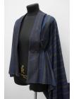 Хлопок-фланель в полоску сине-серый BRS-F7 13112050