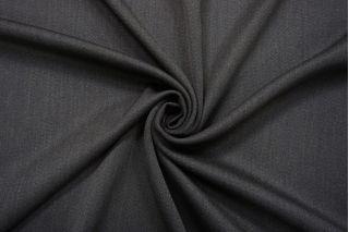 Костюмная шерсть-стрейч темно-серая TXH 13112057