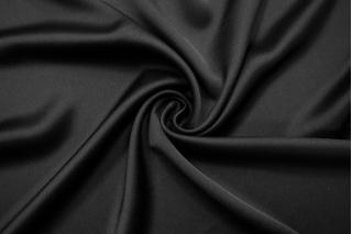 Кади атлас-креп черная BRS-AA6 13112059