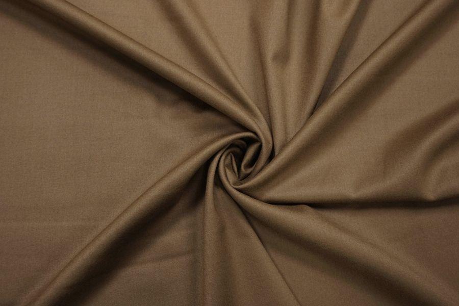Костюмная шерсть бежево-коричневая BRS.H-CC20 13112064