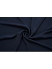 ОТРЕЗ 1,05 М Крепдешин шелковый темно-синий BRS-(35)- 13112065-1