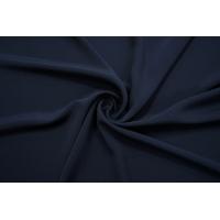 ОТРЕЗ 0,8 М Крепдешин шелковый темно-синий BRS-(34)- 13112065-2