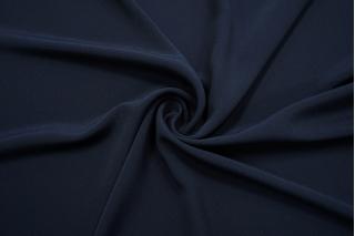 Крепдешин шелковый темно-синий BRS-BB4 13112065