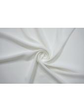 Крепдешин шелковый бело-молочный BRS 13112067