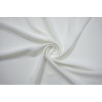 ОТРЕЗ 0,95 М Крепдешин шелковый бело-молочный BRS-(52)- 13112067-1