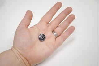 Кнопка пришивная темный никель 17 мм ST-V 15112004
