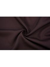Костюмная шерсть с шелком темно-сливовая TRC 20102075