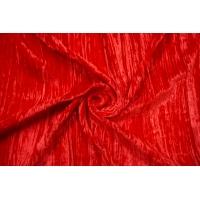 Бархат шелковый креш красный Forte Forte TR 25112005