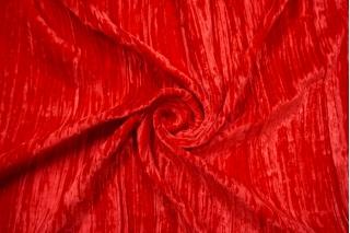 Бархат шелковый креш красный Forte Forte TR-AA2 25112005