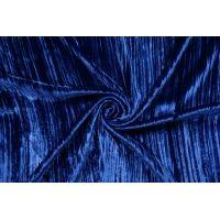 Бархат шелковый креш синий Forte Forte TR 25112012