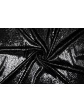 Нарядная черная ткань с ворсом Off-White FRM-АА2 25112019