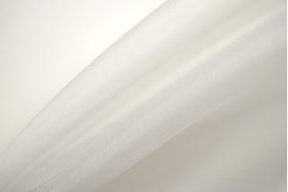 Шелковая органза белая Forte Forte TR 25112020
