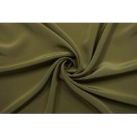 ОТРЕЗ 0,8 М Крепдешин тонкий зеленый хаки Forte Forte TR-(35)-25112022-2