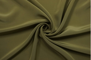 Крепдешин тонкий зеленый хаки Forte Forte TR-BB4 25112022