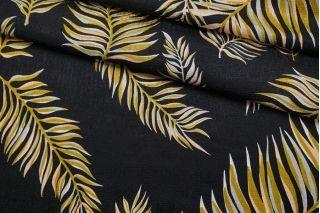 Шелк листья на черном Forte Forte TR.H-M40 25112031