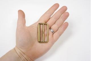 Пряжка-рамка бронза 51х27 мм-(S)- 06122006
